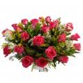 Buque com 24 Rosas Pink