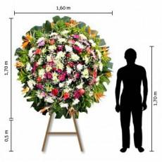 Coroa de Flores Standard – Grande (1,70 x 1,60)