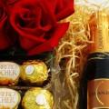 Kit Encanto - Rosas, Chocolate e Espumante