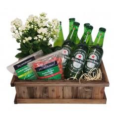 Cesta de Cerveja Heineken